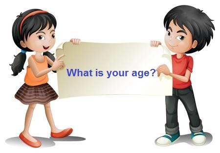Cách hỏi tuổi trong tiếng anh