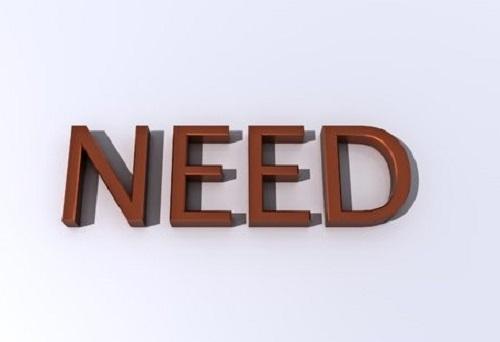 Cách dùng Need
