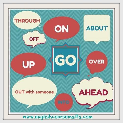 Go through, go over, go ahead, go off Tiếng Anh