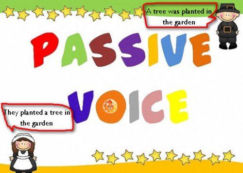 passive voice english
