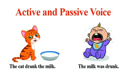 passive voice vs active
