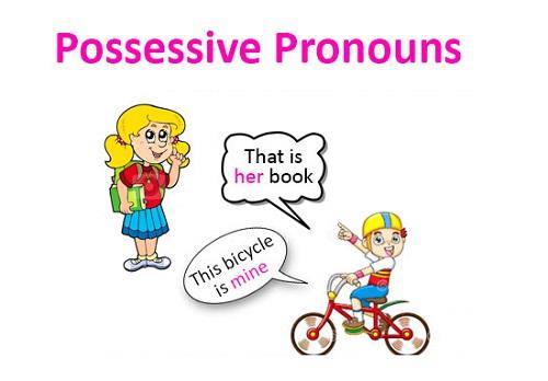 Đại từ sở hữu (Possesive Pronouns)