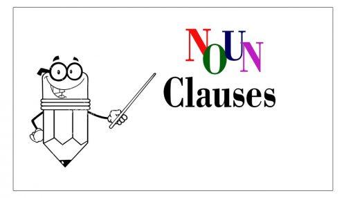 mệnh đề danh từ noun clause