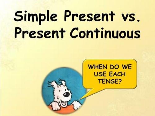Thì hiện tại tiếp diễn (Present Continuous)