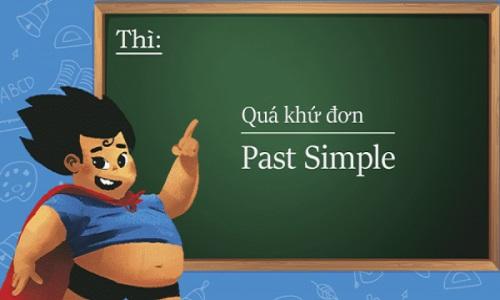 Thì quá khứ đơn (simple past)