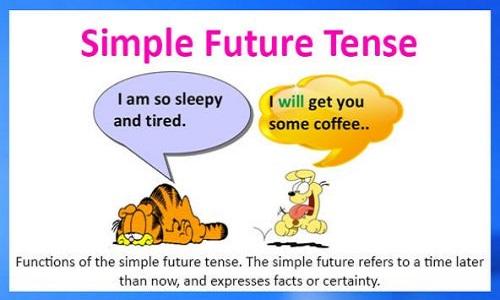 thì tương lai đơn simple future